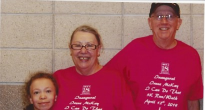 Irene McKay & Grandparents Before Race